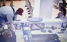 En video | Policía captura a señalado de robo a entidad financiera en Soledad