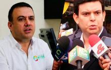 Los gobernadores de Córdoba Edwin Besaile y Alejandro Lyons.