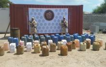 Incautan 130 galones de ACPM y 230 de gasolina procedente de Venezuela