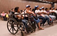 Comités para atender población discapacitada operarán en 15 barrios