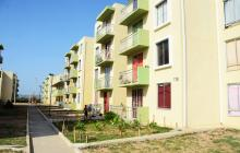 Vista de un área de los conjuntos de apartamentos en Villas de San Pablo.