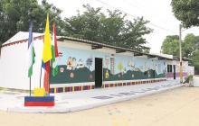 En la Biblioteca, niños y jóvenes se educan combinando la lectura, la tradición y la cultura del departamento.