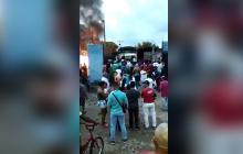 En video   Ley Seca en Fundación tras hallazgo de niña incinerada