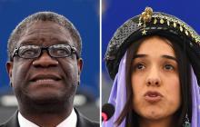 En video | El Nobel de la Paz premia a dos héroes de la lucha contra la violencia sexual