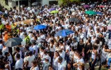 Multitudinaria presencia de personas desde distintos sectores de la Región Caribe congregó Génesis.