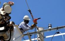 Suspenden energía este sábado en vía a La Playa y sectores aledaños