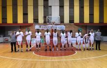 El equipo de los Titanes de Barranquilla en Tunja.