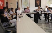 Integremial y Gobernación revisan proyecto de ampliación del Corredor Universitario