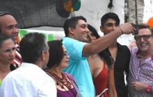 """""""Él admitió su error"""": alcalde de Cartagena sobre selfie del jefe de Distriseguridad con La Madame"""