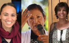 Sharice Davis, Deb Haaland e Ivette Herrel son las tres aspirantes al Congreso de Estados Unidos.