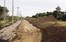 Un 30 por ciento de avances en obras reportó la Gobernación del Atlántico.