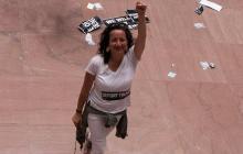 Colombiana que increpó a senador en caso Kavanaugh recibió amenazas de muerte