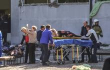 Algunos de los heridos que se encuentran en estado crítico.