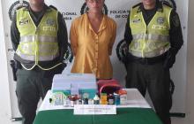 María Villalobos Vera, 23 años, fue capturada en las últimas horas en Luruaco.
