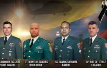 Accidente de helicóptero en Cauca deja cuatro militares fallecidos