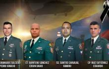 Cuerpos de oficiales fallecidos en Cauca fueron recuperados: Ejército