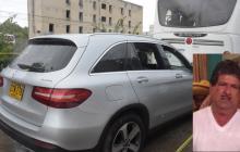 El homicidio de Salomón Meneses se registró en la mañana de ayer en la prolongación de la avenida Murillo.