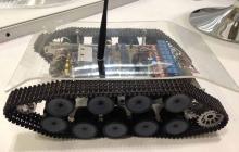 Dispositivo robot para la detección de gases en espacios cerrados patentado por la Uniautónoma.