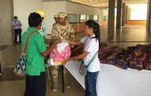 Se han entregado 1.500 kits a damnificados de Uribia
