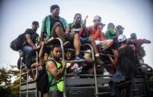 Caravana de hondureños viaja a Ciudad de México para tramitar permiso migratorio
