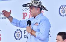 El presidente Duque en el Taller Construyendo País desde Chinú (Córdoba).