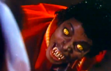 Michael Jackson en el video de