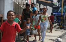 Yuca, plátano y arroz para los angelitos de Cartagena