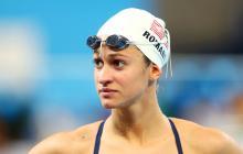 Megan Romano, nadadora estadounidense.