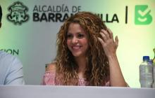 Shakira vuelve a reclamar del Gobierno más inversión para el país