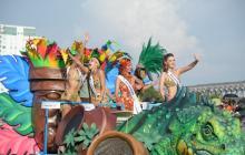 Entre belleza y sabor popular, Cartagena le dio la bienvenida a las Fiestas de la Independencia