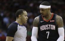 Los Rockets prescinden de Carmelo Anthony