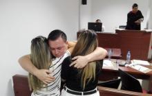 En video   Capitán Tobón López fue dejado en libertad
