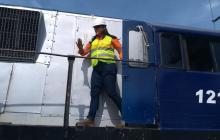 Emilia Bueno, la Samaria maquinista que movió el tren desde La Dorada hasta Santa Marta.
