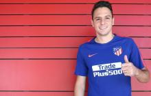 El lateral derecho colombiano Santiago Arias ha jugado bien con la camiseta del Atlético de Madrid.