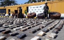 Decomisan en puerto de Barranquilla más de 25 millones de dólares en cocaína