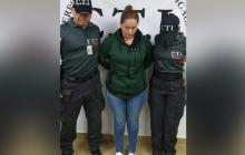 Ginna Margarita Ricardo Cantillo, presunta estafadora.