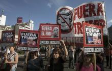 Argentinos protestaron contra el G20 bajo un imponente despliegue de seguridad