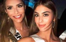 Miss Colombia y Miss España publican foto juntas