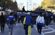 4.000 policías hacen presencia en la final de la Libertadores