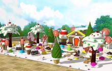 La 'Casa de dulces' será encendida este domingo en la Plaza de la Paz