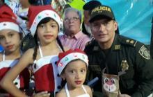 Policía celebra las novenas en la ciudad