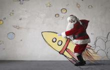 El recorrido de Papá Noel y su explicación desde la física