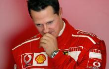Michael Schumacher no aparece en público desde su accidente de esquí de hace cinco años.