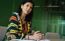 Gloria Alonso Másmela, directora del Departamento Nacional de Planeación, en diálogo con EL HERALDO.