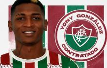 Yony González, que hizo un aporte valioso en la exitosa campaña de Junior en el segundo semestre de 2018, ya se puso la camiseta del Fluminense.