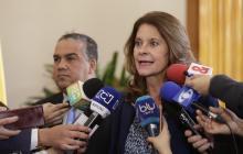Marta Lucía Ramírez, vicepresidenta de Colombia.colp