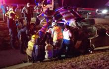 Familia se accidenta en Vía al Mar: una menor de 14 años falleció