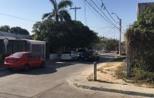 Balacera entre policías y presunto ladrón en La Paz deja un ciudadano herido