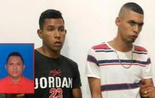 Los presuntos homicidas del llantero.