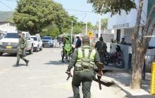 Vigilancia militar en Santa Cruz, Luruaco, tras asonada que dejó dos muertos por asesinato de campesino